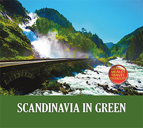 Scandinavia in green